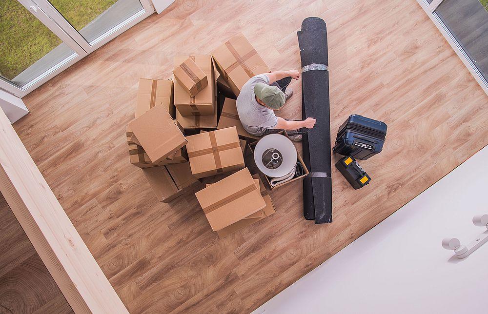 cartons et déménageurs