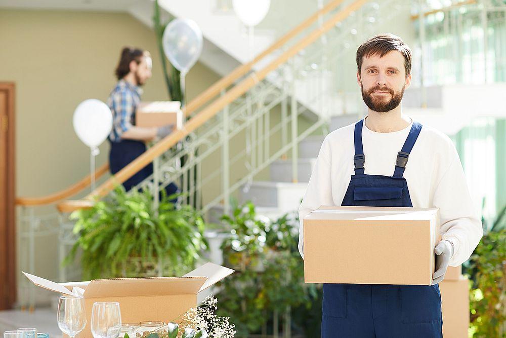 déménageurs transport cartons