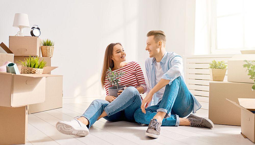 installation nouveau logement couple